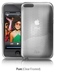 Iskin Ipod Case (Vibes Polymer Case for iPod touch 2Generation, 3Generation (Clear))
