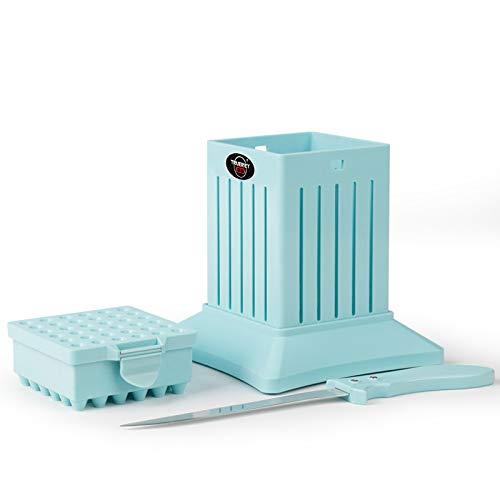 TRUERIEY 36 Holes BBQ Kabob Maker Box with Accessories Set (Best Kabab Koobideh Recipe)