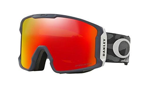 Oakley Line Miner Prizm Snow Goggles Night Camo with Prizm Torch - Oakley Goggles Ski New