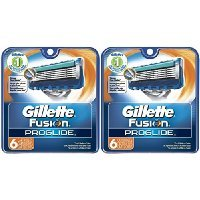 Gillette Fusion ProGlide Manual Razor Replacement Cartridge-6 ct, 2 pk Sold By HERO24HOUR Thank You - Omega Cartridge