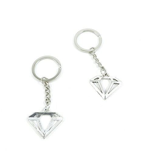 Diamond Shape Keychain - 8
