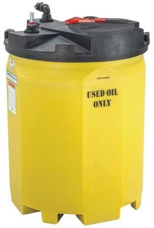 Storage Tank, Closed Top, Vertical, 275 Gal