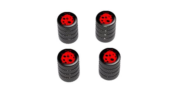 Amazon.com: catarina Rojo Lady Bug sobre negro – Tire ...
