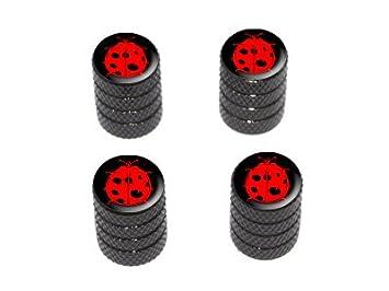 Amazon.com: catarina Rojo Lady Bug sobre negro – Tire ...