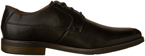 Clarks Mens Becken Vanligt Oxford Svart