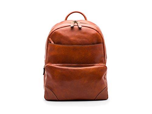 (Bosca  Men's Dolce Collection - Backpack Amber Backpack)