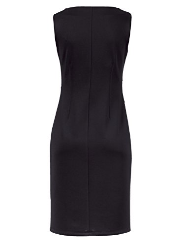 mit weiss schwarz Strasssteinen 0517345215 48 Gr Jersey Marken Kleid wqIOnUvIF