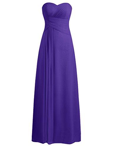 JAEDEN Sweetheart Bridesmaid Dresses Chiffon product image
