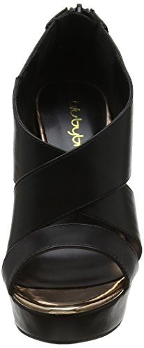 Byblos Thin Hell, Sandales Bout Ouvert Femme Noir (Nero 001)
