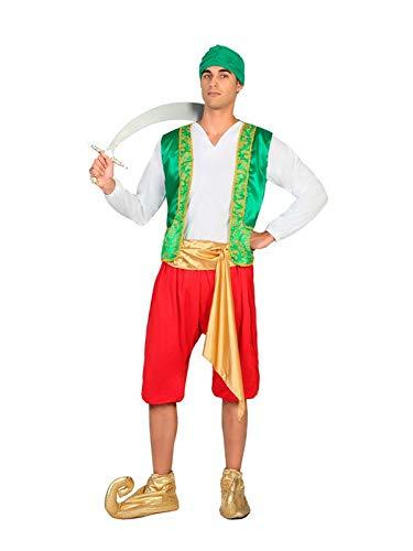 DISBACANAL Disfraz de árabe para Hombre – Único, XL