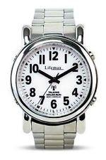 (Lifemax Talking Solar Atomic Watch - Gents Expandable Bracelet)