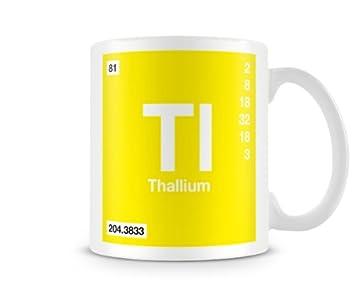 Periodic table of elements 81 tl thallium symbol mug amazon periodic table of elements 81 tl thallium symbol mug urtaz Choice Image