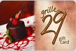 Grille 29 Gift Card ($100) - Village Brookwood