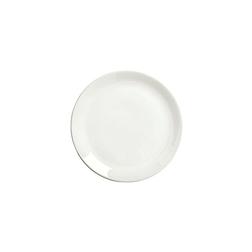 Syracuse China Slenda Royal Rideau Coupe Plate, 9 1/8 inch - 12 per (Syracuse Bone China Plates)