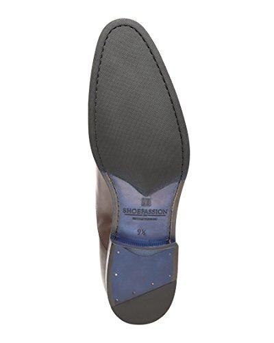 Herren für und handgefertigt 5603 Business aus Durchgenäht oder Dunkelbraun BL Flexibler Leder Feinstem No Freizeitschuh SHOEPASSION xT8qf10wx