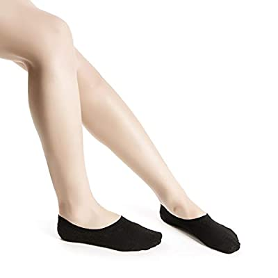 Women's No Show Socks Invisible Hidden Liner Non Slip Low Cut Colorful Cotton Socks