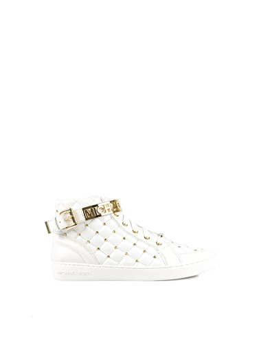 a273f35e7b8be Michael Michael Kors Women s Essex High Top Optical White Size 40 leather.  inside  Amazon.co.uk  Shoes   Bags