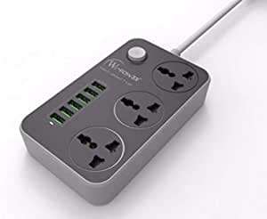 Power connection from wi power features 6 USB ports and 3 triple ports