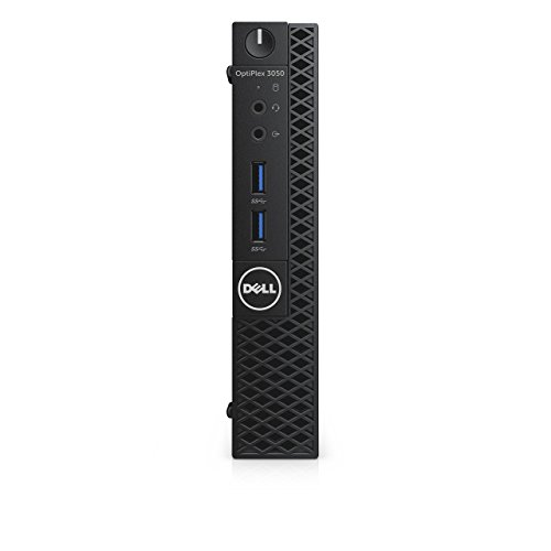 Dell CFC5C OptiPlex 3050 Micro Form Factor Desktop Computer, Intel Core i5-7500T, 8GB DDR4, 256GB Solid State Drive, Windows 10 Pro (Manufacturer Renewed)