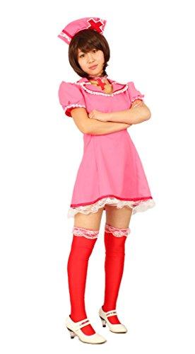 MILICA BOOKS Vocaloid Love Colored Ward Meiko Nurse Cosplay Costume (Large)