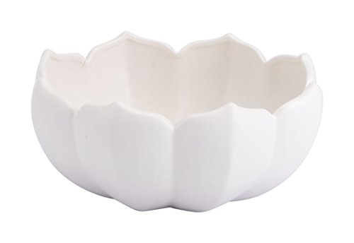 Zuo Lotus Large Bowl, White ()