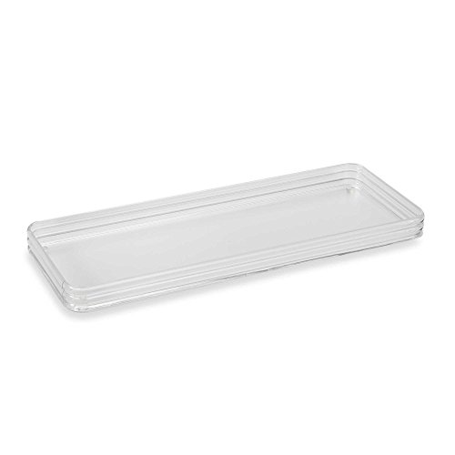 Clear Acrylic Toilet Tank Tray (1) by HometoDeals