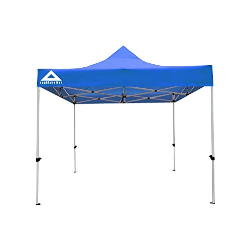 Caddis Tent - Caddis Sports Rapid Shelter Canopy, Royal Blue, 10'x10'