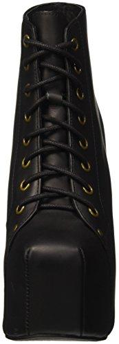 Jeffrey Campbell Lita Leather - zapatos de tacón de punta cerrada Mujer Negro (Nero)