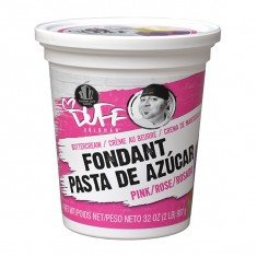 Duff - Buttercream Fondant 2Lb, Pink by Duff Goldman