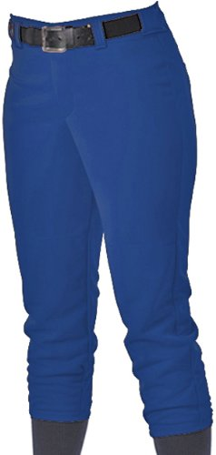 Alleson Girl's Fastpitch Pants - Navy - X-Large