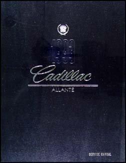 1993 Cadillac Allante Repair Shop Manual Original