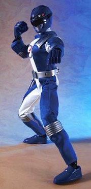 Power Rangers Operation Overdrive Japanese 12 Inch Action Figure Blue Ranger