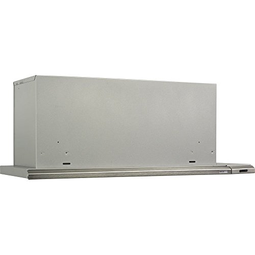 Broan 153004 Slide Out Range Hood, 30-Inch 300 CFM, Brushed -