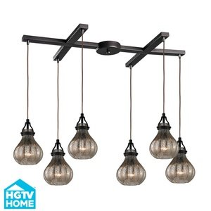 picture of Elk Lighting Danica (existing) 6-Light Chandelier