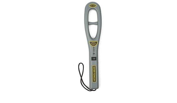 ExcLent Detector De Metales De Mano Escáner Profesional De Alta Sensibilidad Para Instrumentos De Generosidad - Gris: Amazon.es: Bricolaje y herramientas