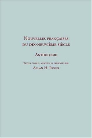 Nouvelles françaises du 19e siècle. Anthologie