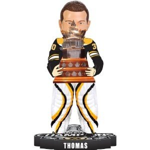 Tim Thomas Boston Bruins (Tim Thomas Boston Bruins 2011 Stanley Cup Champions Conn Smythe MVP Bobble Head)
