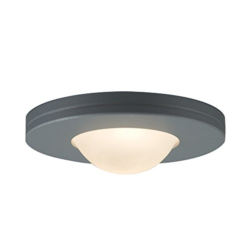 Edged Slim Disk - JESCO Lighting PK403SG Straight-edged Slim Disk with Frosted Glass Lens