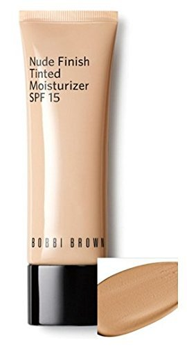 Bobbi Brown 'Nude Finish' Tinted Suitable for Normal to Dry Skin Moisturizer SPF 15 (Medium Tp Dark Tint) by Illuminations