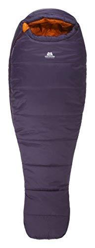 Mountain Equipment Women's Starlight III -10C/14F Synthetic Sleeping Bag - Aubergine Blaze Right Zip Regular [並行輸入品] B07R3Z7PFW