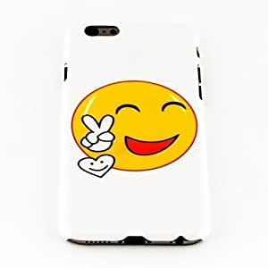 LZX Fashion Smile Face Pattern TPU Soft Cover for iPhone 6 Case 4.7 inch