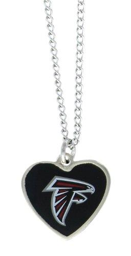NFL Atlanta Falcons Color Logo Heart ()