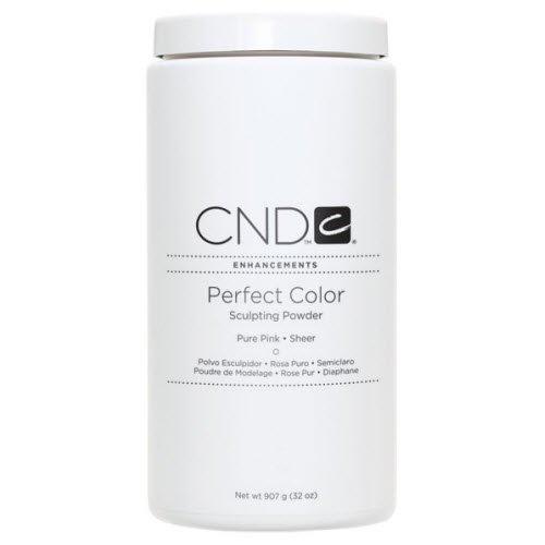 Creative Nail Perfect Color Powder False Nails, Pure Pink, 3