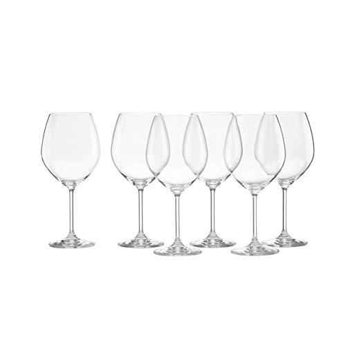 Lenox Tuscany Classics Red Wine Glasses, Buy 4, Get 6, 24 ounces – 887609