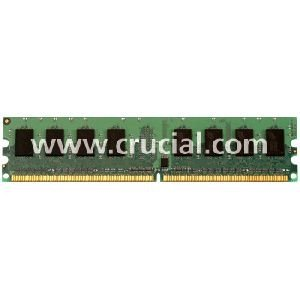 Crucial 1Gb Ddr Sdram Memory Module . 1Gb . 333Mhz Ddr333/Pc2700 . Ecc . Ddr Sdram . 184. Pin ''Product Type: Memory/Ram Modules'' by OEM (Image #1)