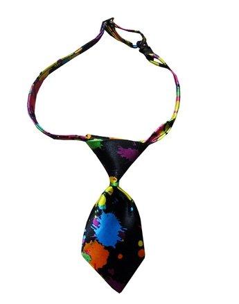 Purple Fanta Girl Costume (Pet Multiple Designs Gift for Dogs Handmade Bow Tie Set or Bowtie Dog Collars( Purple))
