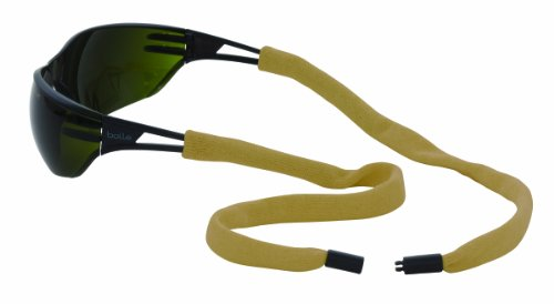 Chums Safety 13002151d Flame Resistant PBI/Kevlar Eyewear Retainer with Single Breakaway (Pack of 6)