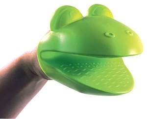 Fred and Friends Hot Heads Insulating Mitt, Frog