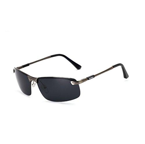 de de Las SunglassesMAN Hombres de la Gafas Gafas del antideslumbrantes de de del los Sol conducción Marco Sol los Gafas Deporte Sol Hombres de de 4 del 3 polarizadas de Gafas Sol Metal Yxsd Color zzWrgwqHE