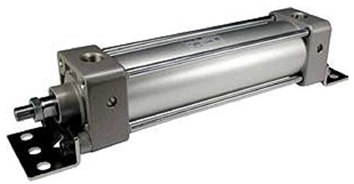 (SMC NCDA1KL150-0400 Tie Rod Cylinder, Medium Duty, No-Rotating Type, Auto Switch)